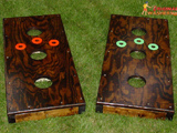Stained wood Washer Boards - Available upon request.