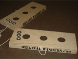 Washer Toss Game Set - Often called Texas Horseshoes.