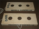 Washers Toss Game with Logo