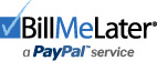 Bill Me Later - A PayPal Service