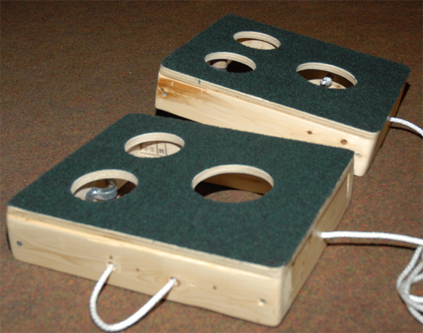 party boards washer toss game