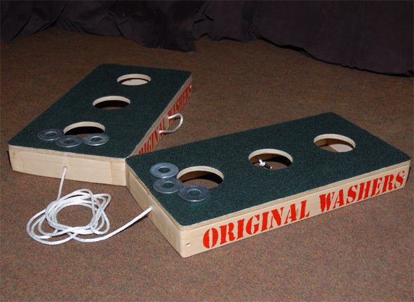 original washers game carpeted surface click to enlarge