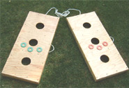 Wood Washers Game Set